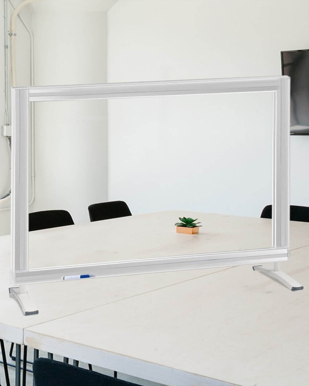A medium sized lightbord on a table top