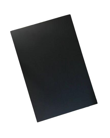 Black backdrop panel