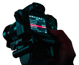 dlsr settings for lightboard filming